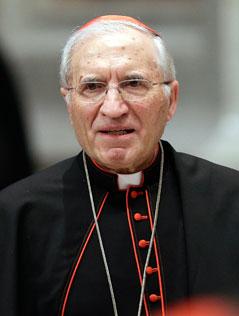 Der Vorsitzende der spanischen Bischofskonferenz, Kardinal Antonio Maria Rouco