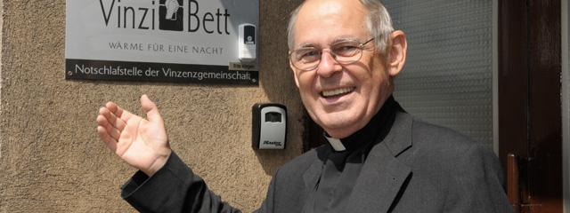 Vinzi-Pfarrer Wolfgang Pucher