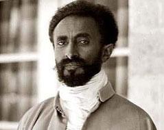 Haile Selassie etwa 1923