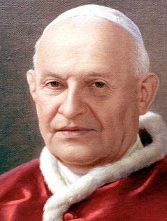 Gemälde von Ppast Johannes XXIII.