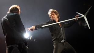 Jon Bon Jovi und Richie Sambora auf der Bühne