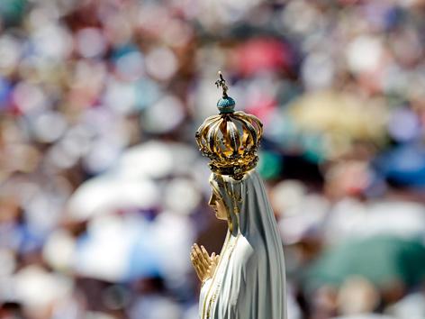 """Madonna von Fatima """"pilgert"""" zum Weltjugendtag"""