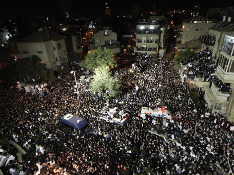 Begräbnis von Rabbi Ovadia Josef