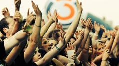 Zuschauer bei einem Ö3-Konzert