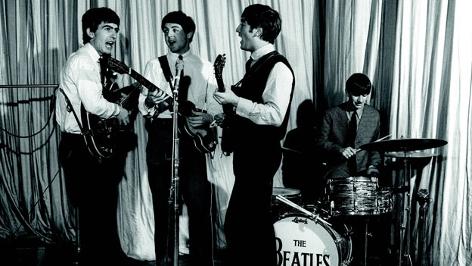 The Beatles auf der Bühne