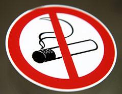 Schild: Rauchen verboten