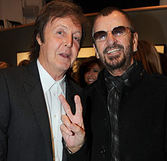 Paul McCartney und Ringo Starr