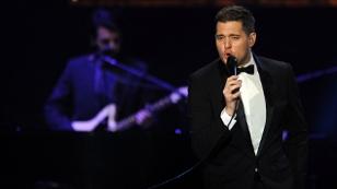 Michael Buble auf der Bühne