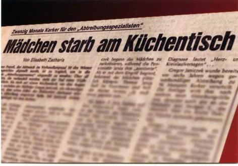 Der lange Arm der Kaiserin - Die Geschichte des Schwangerschaftsabbruches in Österreich