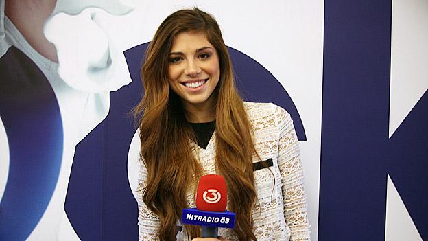 Christina Perri zu Gast bei Ö3.