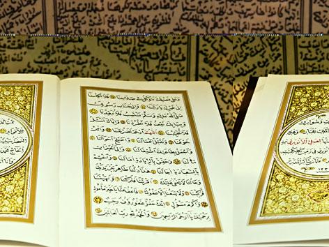 Prachtexemplar eines Korans