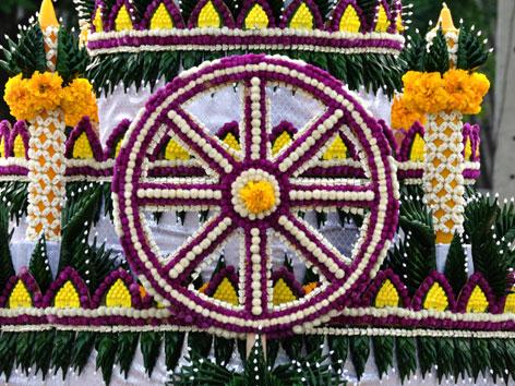 Das Blumenrad des Dhamma