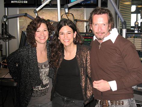 Anna F., Sandra König und Robert Kratky