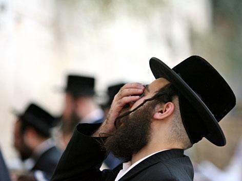 Orthodoxer Jude im Gebet