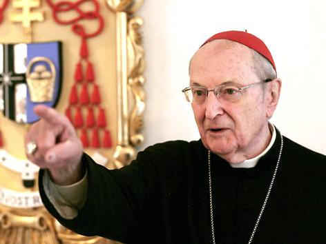 Erzbischof von Köln Joachim Meisner