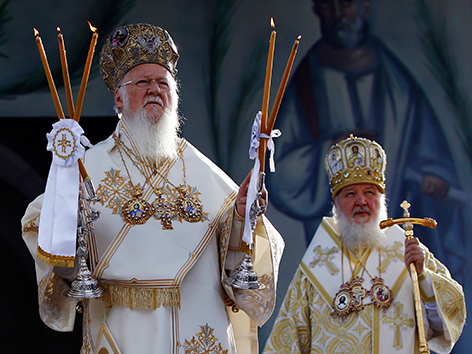 Gipfeltreffen orthodoxer Patriarchen in Istanbul