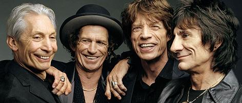 Rolling Stones auf der Bühne