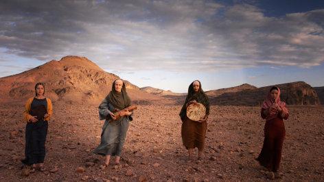 Jesus und die verschwundnen Frauen