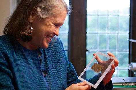 """Karen L. King mit dem """"Evangelium der Frau Jesu"""""""
