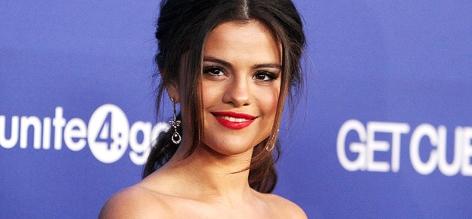 Sängerin und Schauspielerin Selena Gomez