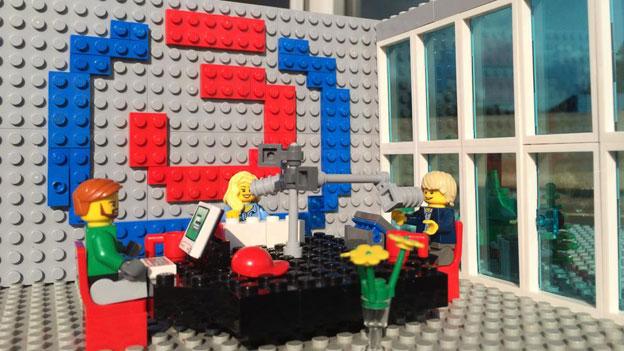Lego Ö3-Studio