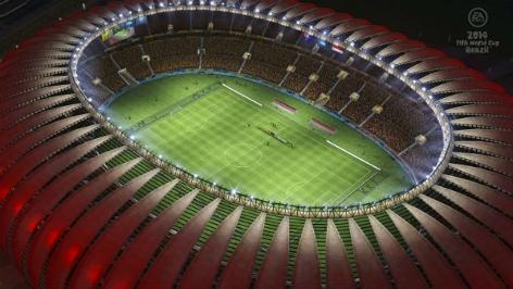Screenshot FIFA Fußball-WM Brasilien 2014