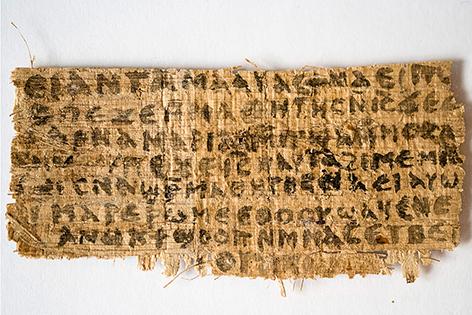 """Papyrus """"Evangelium der Frau Jesu"""""""