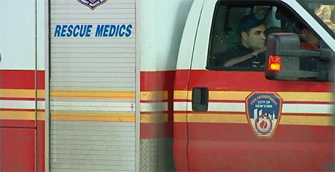 Im Rettungswagen