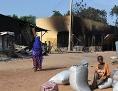 Verwüstung nach Anschlag von Boko Haram in Nigeria