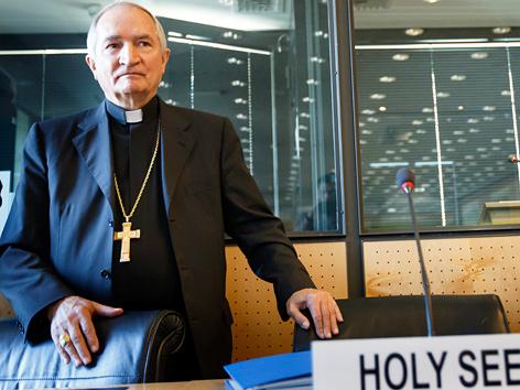 Bischof Silvano Tomasi, Vertreter des Vatikans vor der UNO