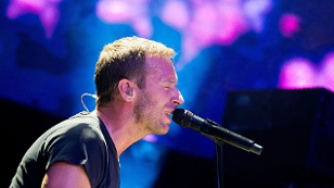 Coldplay Sänger Chris Martin