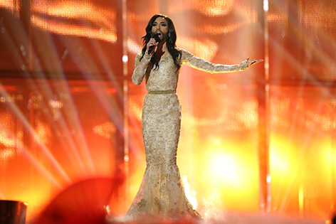 Conchita Wurst beim Song Contest