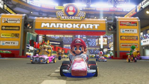 """Screenshots """"Mario Kart 8"""""""