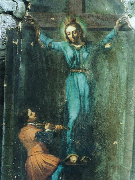 Gemälde der heiligen Kümmernis