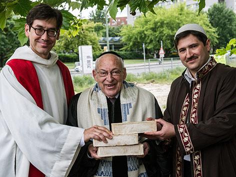 Pastor Gregor Hohberg, Rabbi Tovia Ben-Chorin und Imam Kadir Sanci