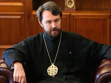 Außenamtsleiter des Moskauer Patriarchats, Metropolit Hilarion