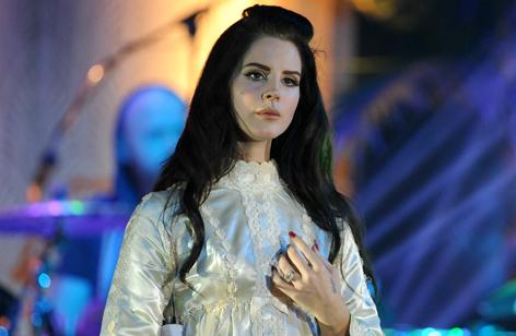 Lana Del Rey auf der Bühne