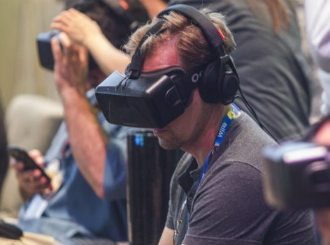 Die Virtual Reality Brille Oculus Rift