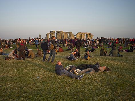 Sommersonnenwende in Stonehenge