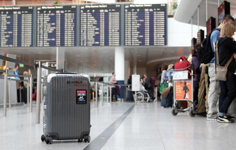 BAG 2 GO auf einem Terminal
