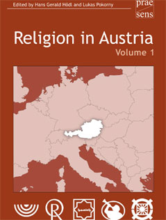 "Buchcover ""Religion in Austria"" Band 1"