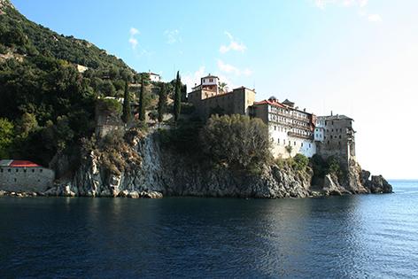 Kloster auf dem Berg Athos