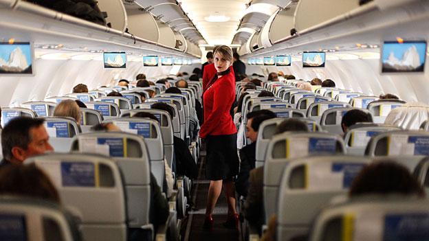 Flugzeug innen