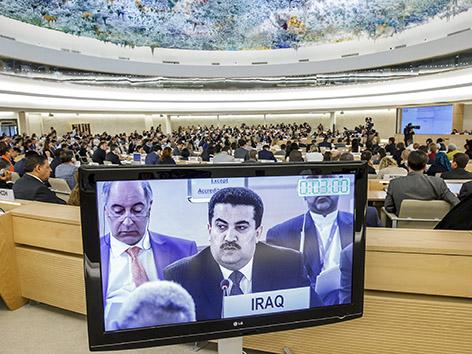 Sondersitzung des Menschenrechtsrats (UNHRC)