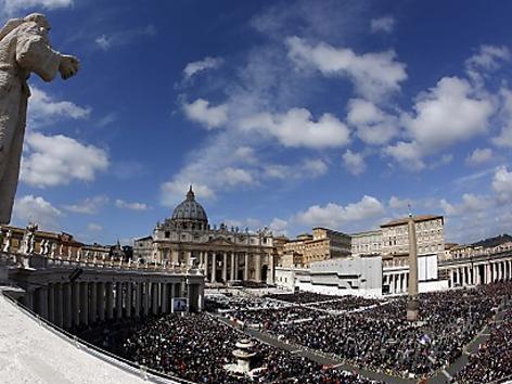 Petersplatz im Vatikan