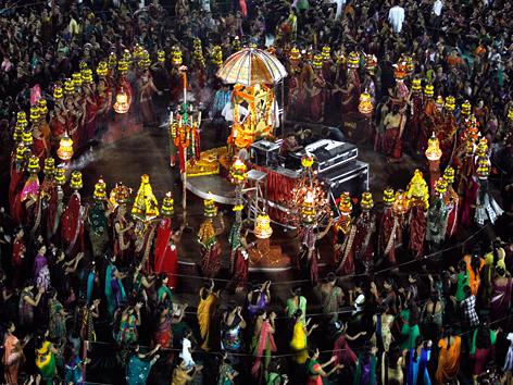 Navratri Neun Tage Fur Kriegergottin Durga Religion Orf At