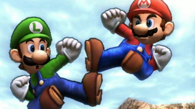 """Screenshot """"Super Smash Bros. 3DS"""""""