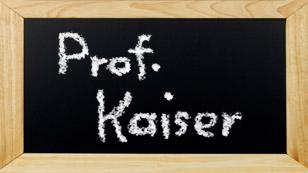 Prof. Kaiser
