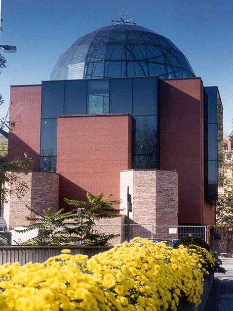Die neue Grazer Synagoge