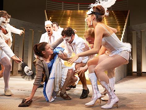 """Theaterbesuch """"Der Zerrissene"""""""
